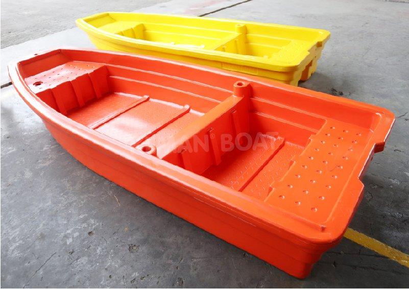 perahu plastik dari PE