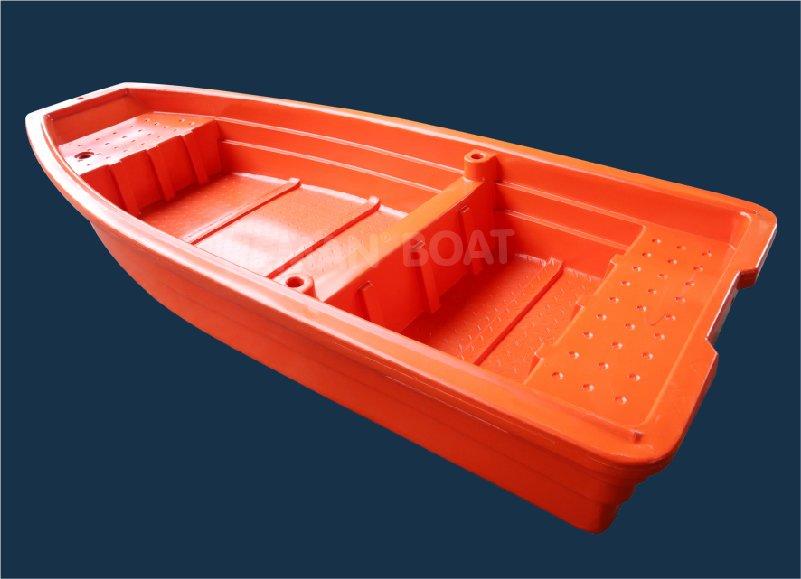 perahu plastik bukan karet